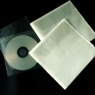 clear pvc pocket cd dvd